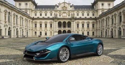 Mẫu xe V-12 do Torino Design thiết kế.