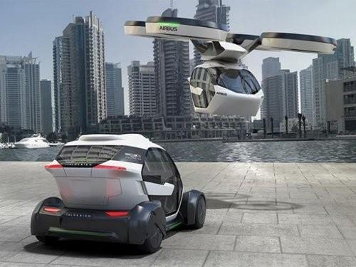 Pop.Up được dự đoán là mẫu xe của tương lai.
