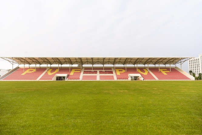Sân thi đấu chính, quy mô 3.600 chỗ được đảm bảo những điều kiện thi đấu tốt nhất các giải đấu lớn