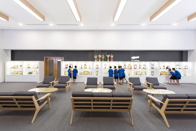 Phòng Truyền thống của Trung tâm Đào tạo Bóng đá Trẻ PVF tại Hưng Yên