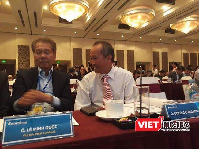 Ông Dương Công Minh tại ĐHĐCĐ Sacombank
