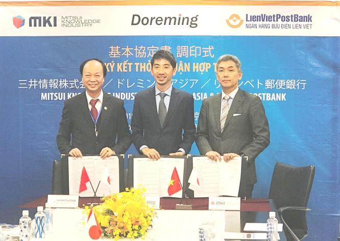LienVietPosBank ký thỏa thuận hợp tác với 2 đối tác Nhật Bản ảnh 1