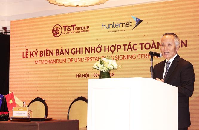 Hợp tác toàn diện với HunterNet, T&T Group sẽ sang Úc làm nông nghiệp, năng lượng, khai khoáng? ảnh 1