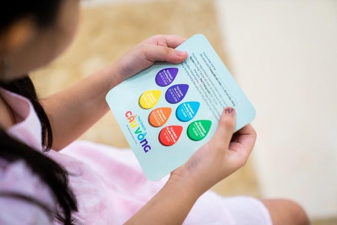 Vào các ngày thứ 7 từ 1 – 23/6, các em nhỏ sẽ được tham gia Thử thách Cầu Vồng cùng các trò chơi bổ ích