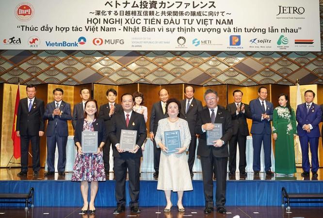 Đại diện Tập đoàn BRG, Tập đoàn VNPT, Tập đoàn Sumitomo và Ngân hàng SeABank đã ký thỏa thuận hợp tác trong lĩnh vực Fintech và ứng dụng công nghệ cao trong đô thị thông minh tại Việt Nam