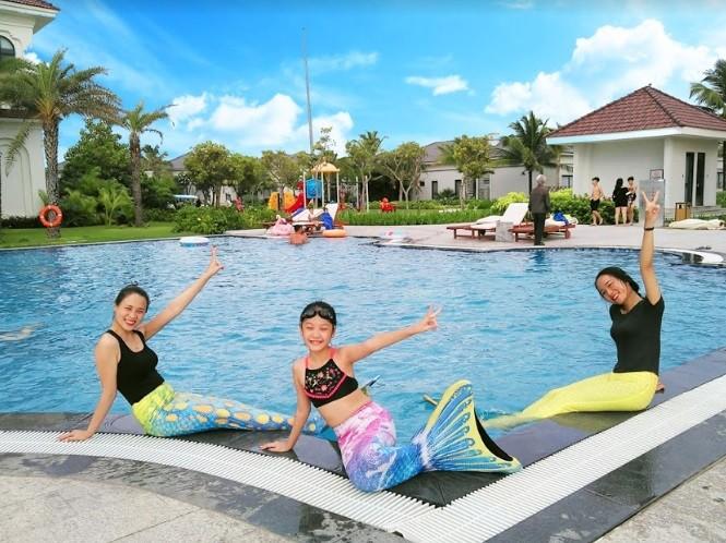 Đi nghỉ mát được học bơi: Chuyện có thật tại Vinpearl ảnh 1