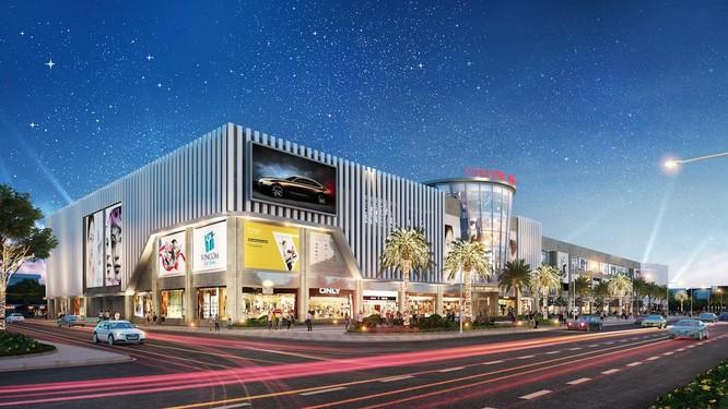 Vincom Mega Mall Smart City nằm trên trục Đại lộ Thăng Long, thuộc trục phát triển mới và năng động của thành phố.