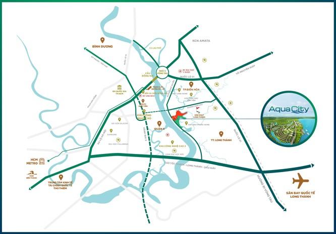 ới vị trí tâm điểm của vùng kinh tế trọng điểm, Đồng Nai đang được đầu tư phát triển hạ tầng mạnh mẽ