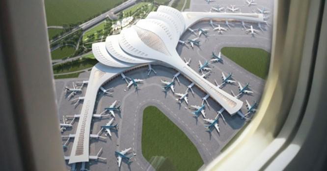 Phối cảnh sân bay Long Thành. Nguồn: Internet