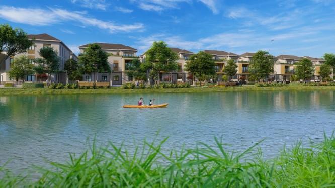 Sự ra đời của đô thị sinh thái Aqua City rộng hàng trăm héc ta nhằm đáp ứng mong muốn an cư bình yên, trong lành cho cư dân.