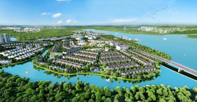 Tọa lạc tại tâm điểm kết nối liên vùng của Đồng Nai, Aqua City được coi là