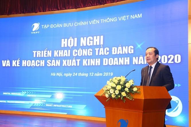 Tổng Giám đốc VNPT Phạm Đức Long phát biểu tại hội nghị