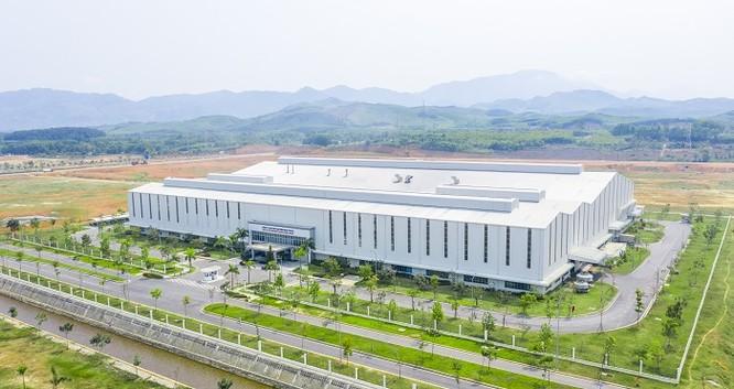 Nhà máy sản xuất linh kiện nhựa của Thaco