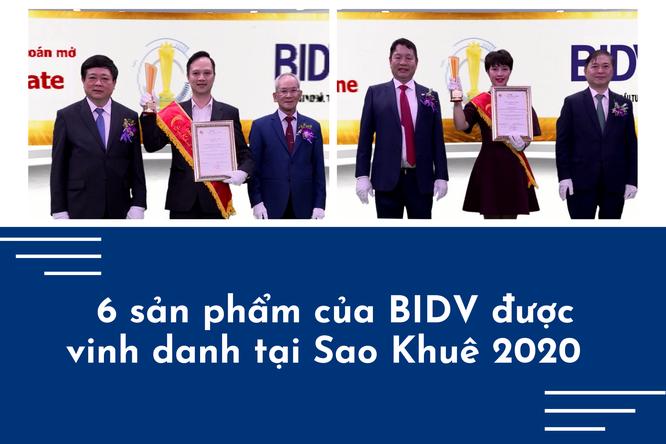 6 sản phẩm của BIDV được vinh danh tại Sao Khuê 2020 ảnh 1