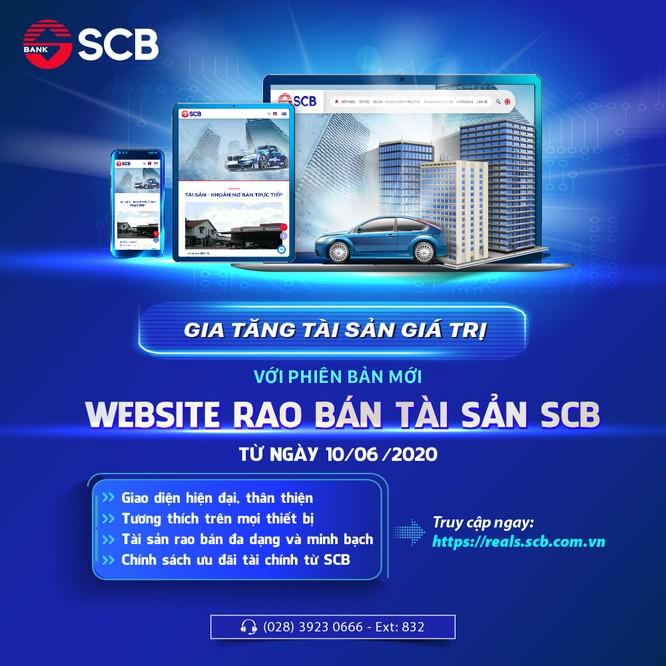 SCB ra mắt phiên bản mới của website rao bán tài sản ảnh 1
