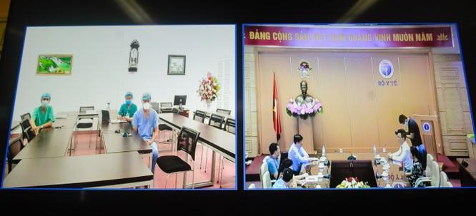 Buổi làm việc trực tuyến giữa Tập đoàn Ecopark, Bộ Y tế và Bệnh viện C Đà Nẵng
