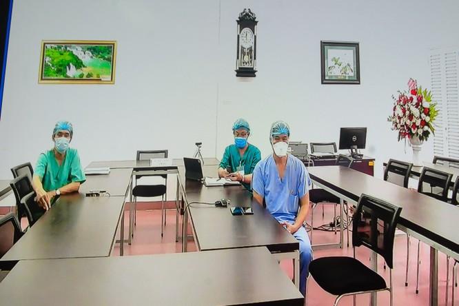 Ban lãnh đạo bệnh viện C Đà Nẵng.