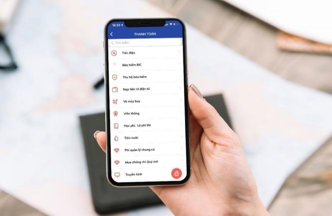 Thanh toán mọi loại hóa đơn với BIDV SmartBanking