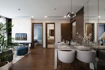 Thiết kế nội thất sang trọng, tinh tế tại Dual key