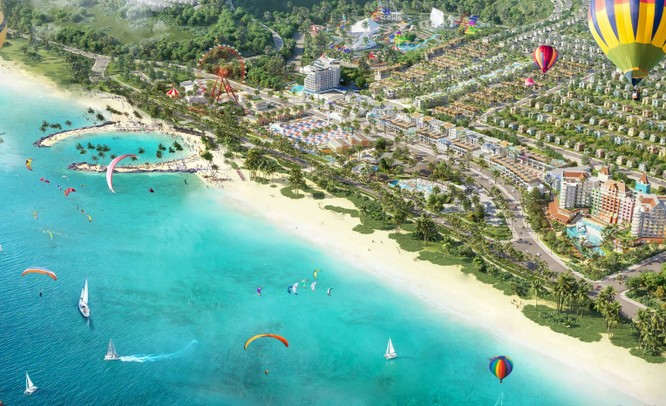 NovaWorld Phan Thiết – Siêu thành phố biển – du lịch – sức khỏe quy mô 1,000 ha