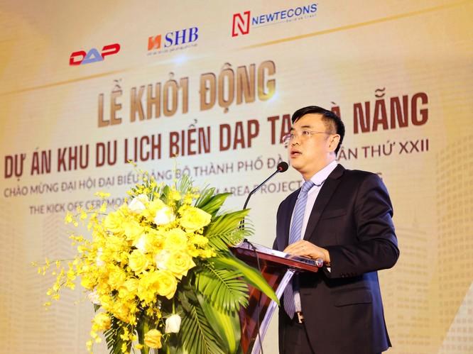 Ông Nguyễn Văn Lê, Tổng Giám đốc Ngân hàng SHB cam kết SHB sẽ hỗ trợ tối đa để dự án được triển khai và hoàn thành đúng tiến độ