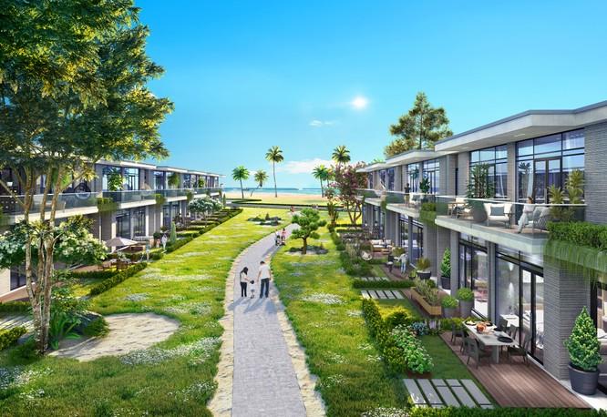 Sức hút của biệt thự biển Happy Beach Villas 2 tầng, 3 chìa khóa ảnh 2