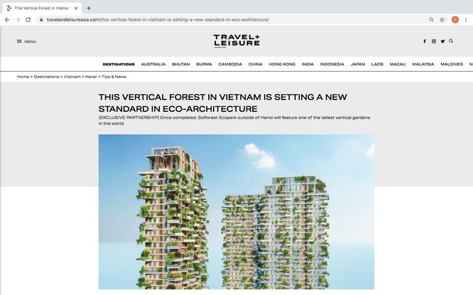 Tạp chí danh tiếng của Mỹ viết về tòa tháp xanh cao nhất của Việt Nam ảnh 1