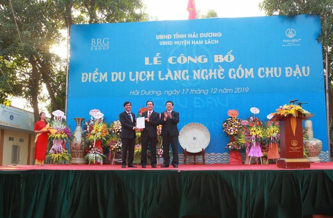 Gốm Chu Đậu trở thành điểm du lịch làng nghề của Hải Dương ảnh 1