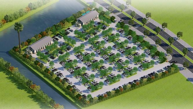Ecopark khởi công nhà máy nước thải thứ 4 tại khu đô thị ảnh 1
