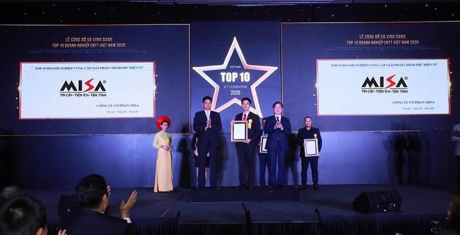 MISA nằm trong top 10 doanh nghiệp cung cấp nền tảng chuyển đổi số và giải pháp Chính phủ điện tử ảnh 1