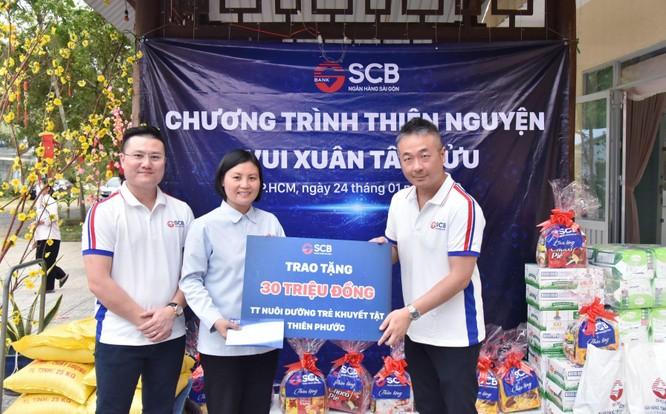 SCB tích cực tham gia các hoạt động nhân đạo, từ thiện năm 2020 ảnh 1