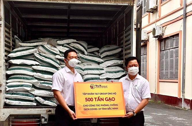T&T Group ủng hộ 1000 tấn gạo và 5 tỷ đồng cho Bắc Ninh, Bắc Giang chống dịch ảnh 1