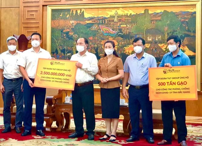 T&T Group ủng hộ 1000 tấn gạo và 5 tỷ đồng cho Bắc Ninh, Bắc Giang chống dịch ảnh 2