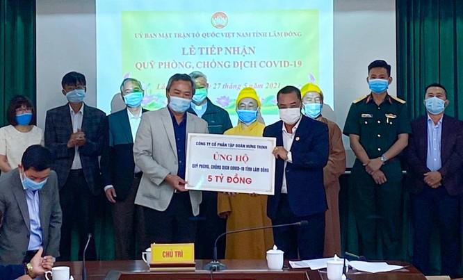 Bình Định: Tập đoàn Hưng Thịnh trao tặng 50.000 liều Vắc-xin phòng, chống Covid-19 ảnh 1