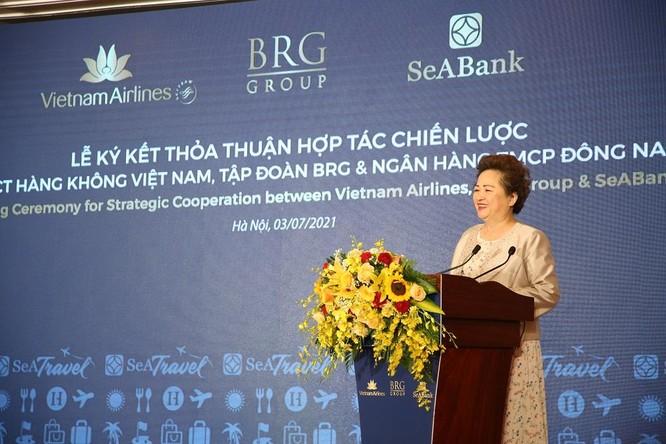 Vietnam Airlines, BRG và SeABank ký thỏa thuận hợp tác chiến lược ảnh 1