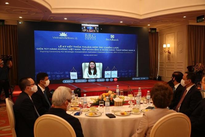 Vietnam Airlines, BRG và SeABank ký thỏa thuận hợp tác chiến lược ảnh 3