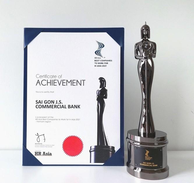 HR Asia Awards vinh danh SCB là nơi làm việc tốt nhất Châu Á 2021 ảnh 1