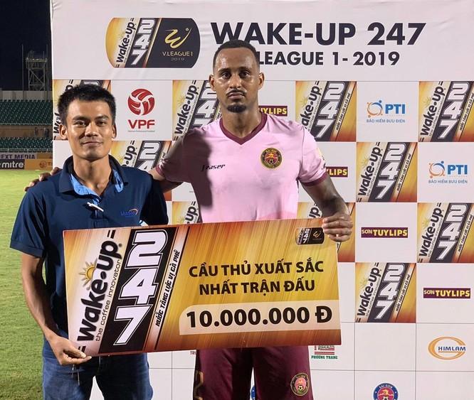 Cầu thủ Sài Gòn Pedro là cái tên được BTC bầu chọn (ảnh VPF)