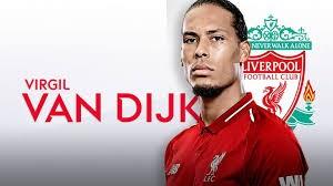 Trung vệ Virgil van Dijk, người được UEFA bình chọn là cầu thủ xuất sắc nhất trận CK (ảnh UEFA)
