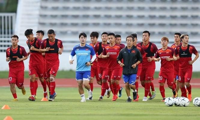 Mọi thứ đã sẵn sàng cho trận đấu với Thái Lan (ảnh PLO)