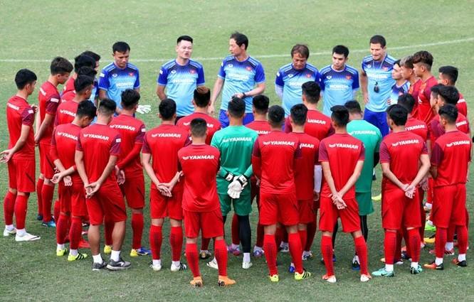 Hiện tại, U23 Việt Nam đang có 28 cầu thủ do HLV Kim Han-yoon dẫn dắt (ảnh SGGP)
