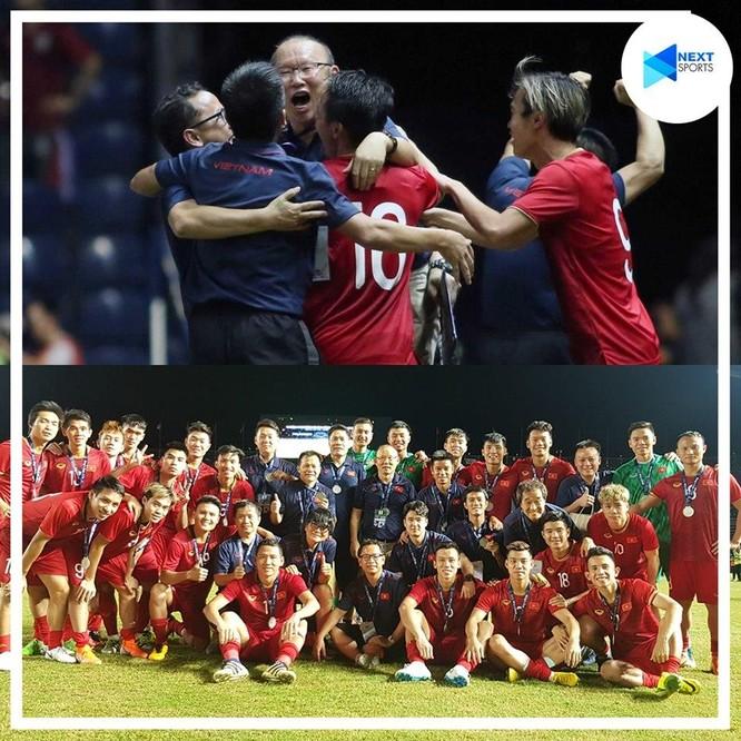 ĐT Việt Nam đã kết thúc hành trình ấn tượng của mình tại King's Cup 2019 với ngôi vị Á quân (ảnh Next Sports)
