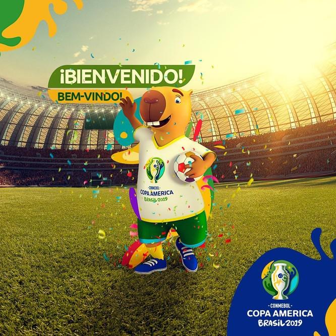 Linh vật biểu tượng của Copa America 2019 (ảnh VietTimes)