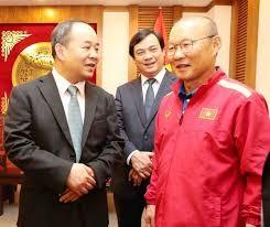 Liệu Chủ tịch VFF Lê Khánh Hải có xoay đủ tiền để giữ chân ông Park ? (kênh 14)