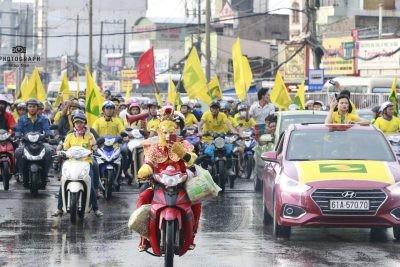Khán giả xứ Nghệ luôn sát cánh cùng đội bóng (ảnh Giáp San)