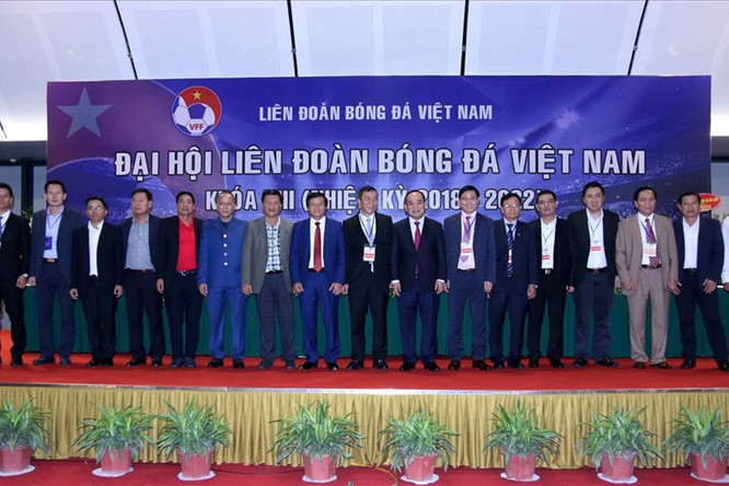 Những vụ việc lùm xùm được Đại hội Liên đoàn bóng đá Việt Nam khóa 8 đã báo hiệu một nhiệm kỳ không yên ả cho ngôi nhà bóng đá của đất nước hình chữ S (ảnh VFF)