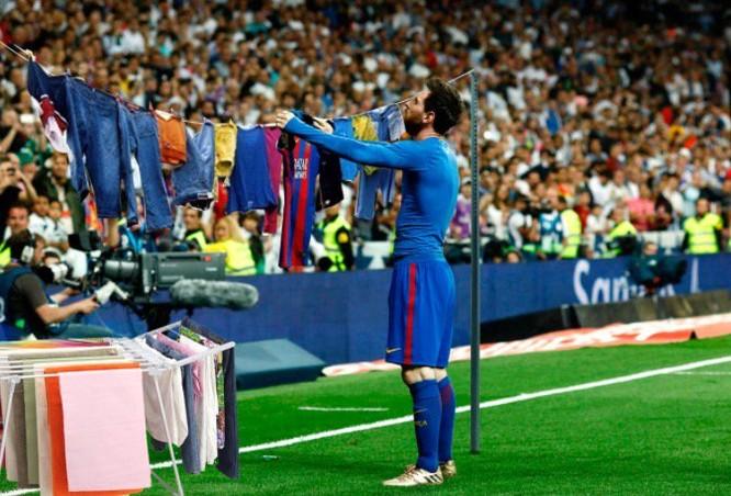 9 giải đấu mà Messi tham gia cùng đội tuyển đều kết thúc bằng con số 0 là quá nhiều (ảnh Viettimes)
