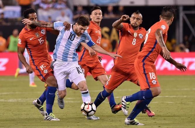 Các đối thủ đá với Argentina mà có Messi trong đội hình thì họ đều chơi hay hơn (ảnh AP)