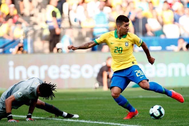 Vũ điệu Samba trên sân Arena Corinthians (ảnh AP)