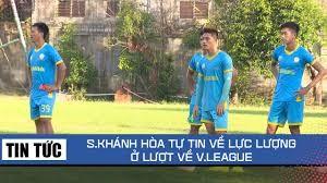 Năng lực của S.Khánh Hòa không quá yếu so với mặc bằng V.League, cái họ cần là giữ vừng tinh thần (ảnh Onsport)
